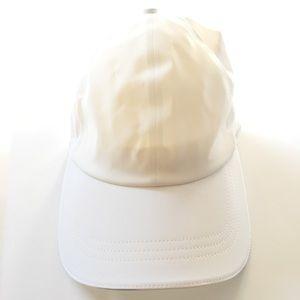 LULU LEMON White Adjustable Hat